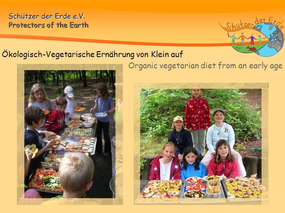 Ökologisch-Vegetarische Ernährung von Klein auf