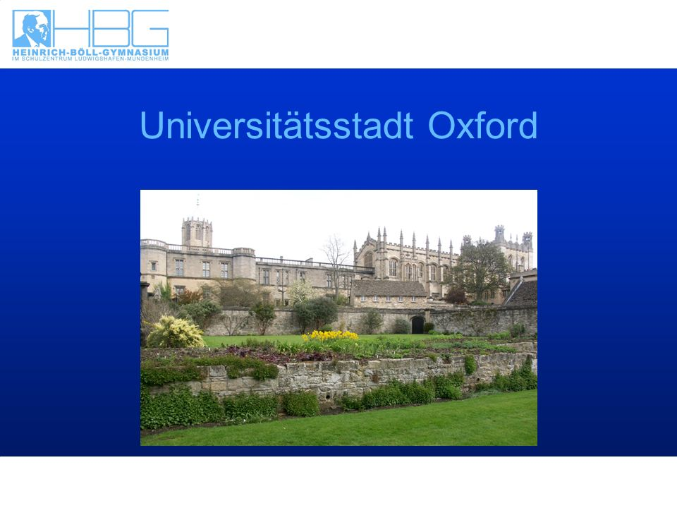 Universitätsstadt Oxford