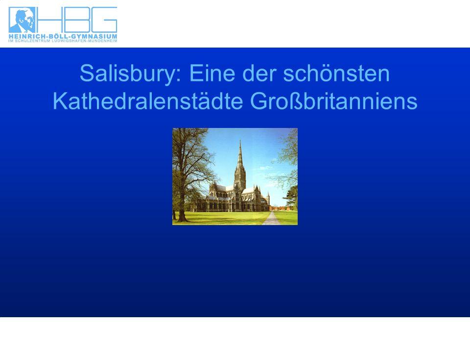 Salisbury: Eine der schönsten Kathedralenstädte Großbritanniens