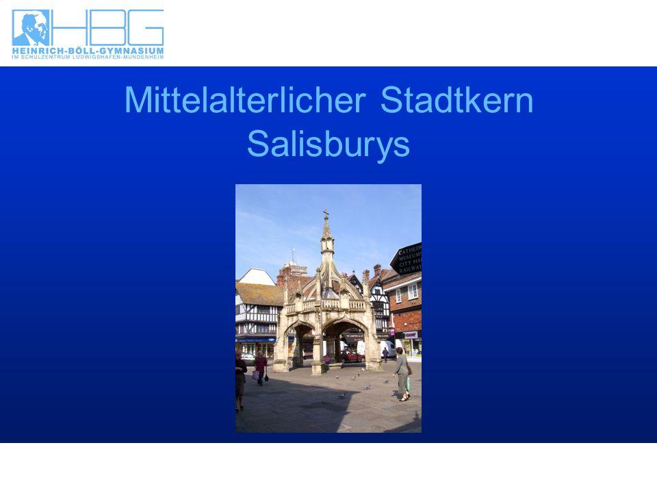 Mittelalterlicher Stadtkern Salisburys