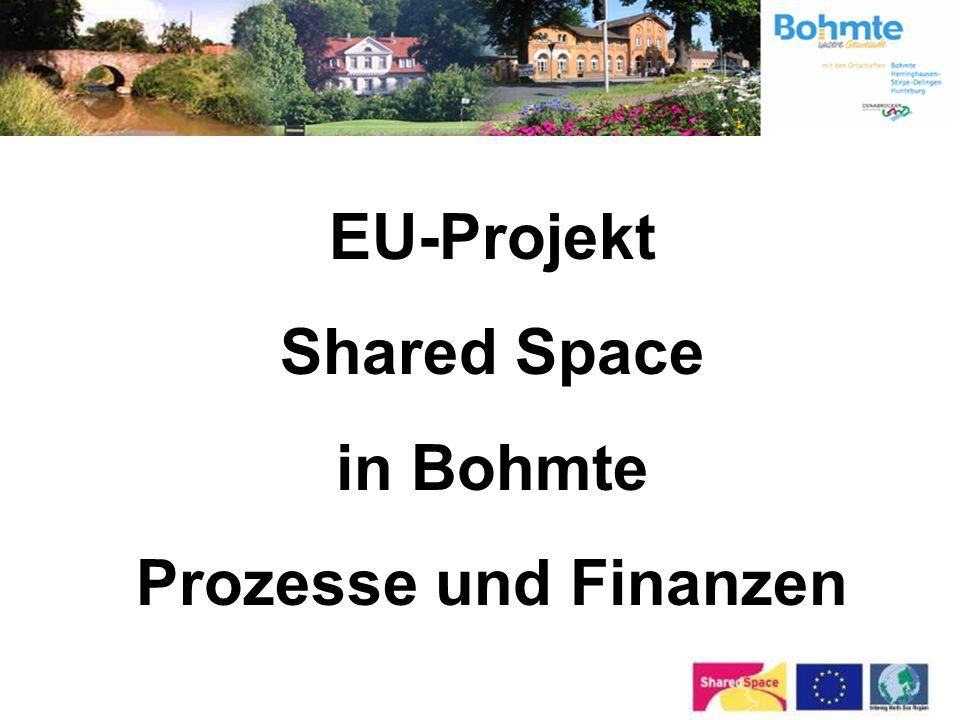 EU-Projekt Shared Space in Bohmte Prozesse und Finanzen
