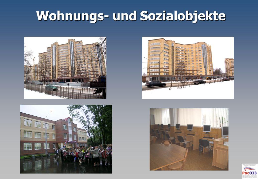 Wohnungs- und Sozialobjekte