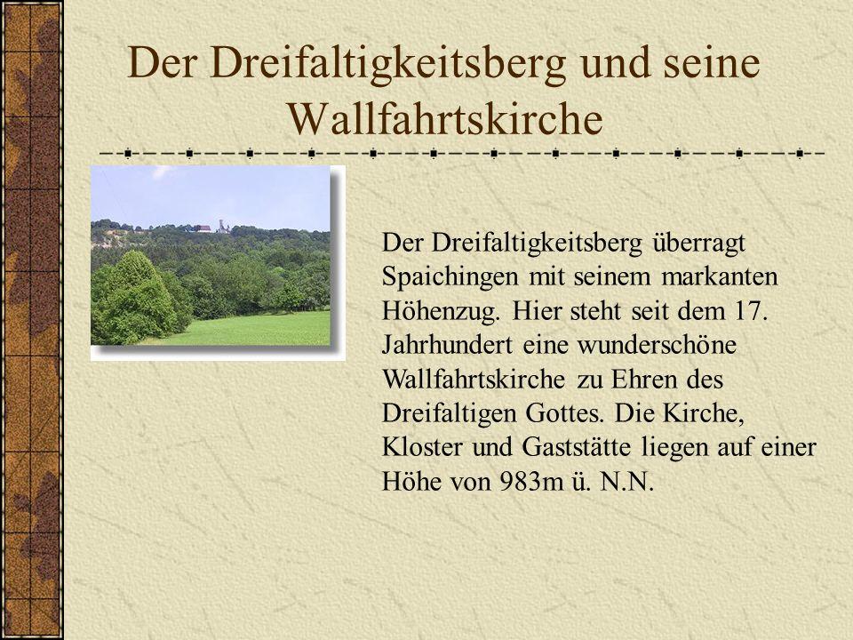 Der Dreifaltigkeitsberg und seine Wallfahrtskirche