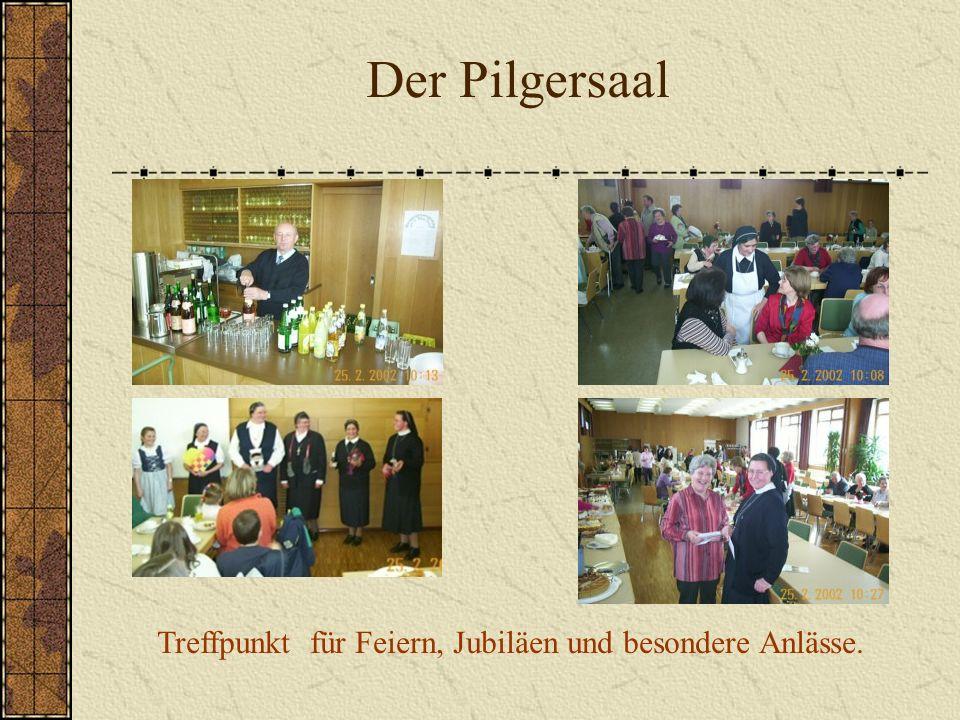 Treffpunkt für Feiern, Jubiläen und besondere Anlässe.