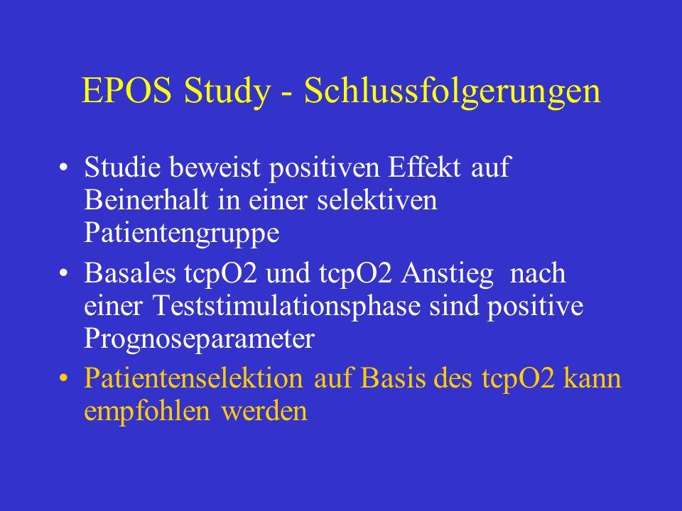 EPOS Study - Schlussfolgerungen