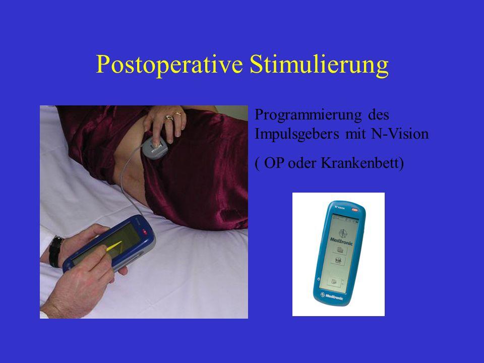 Postoperative Stimulierung