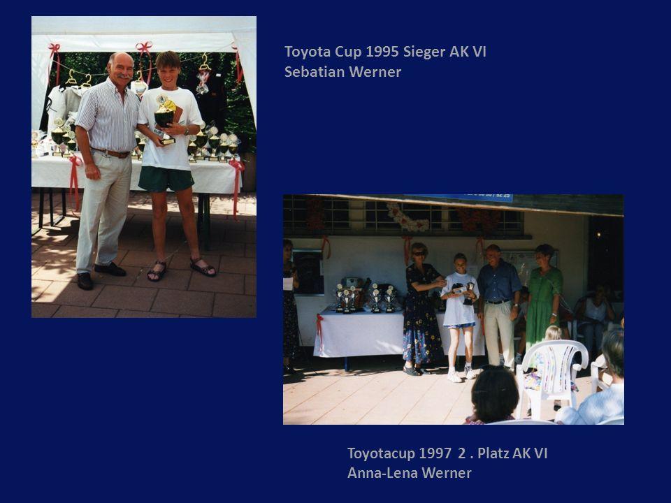 Toyota Cup 1995 Sieger AK VI Sebatian Werner