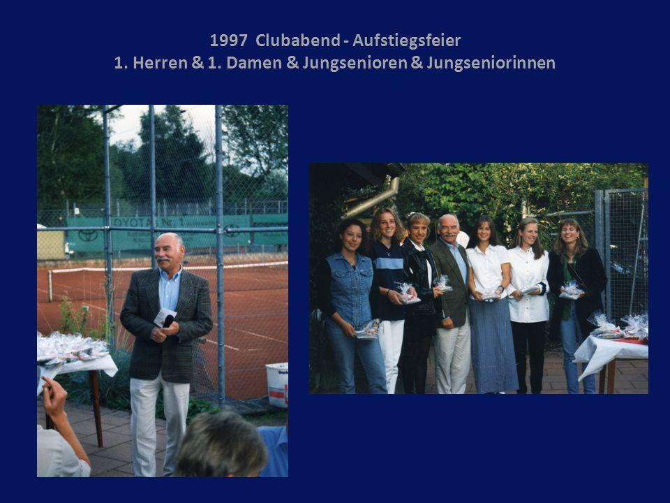 1997 Clubabend - Aufstiegsfeier 1. Herren & 1