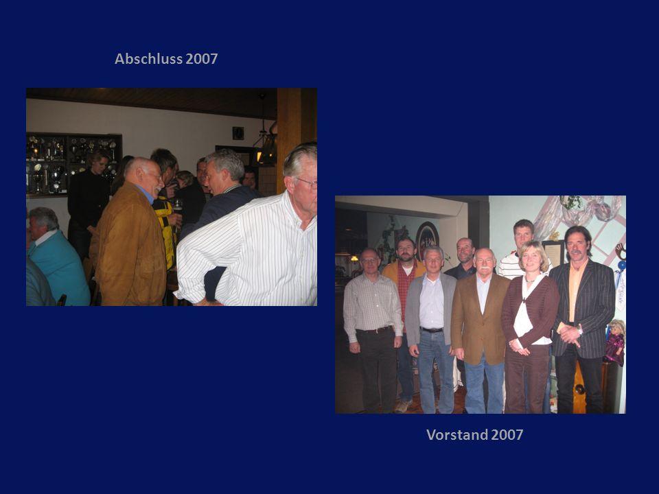 Abschluss 2007 Vorstand 2007