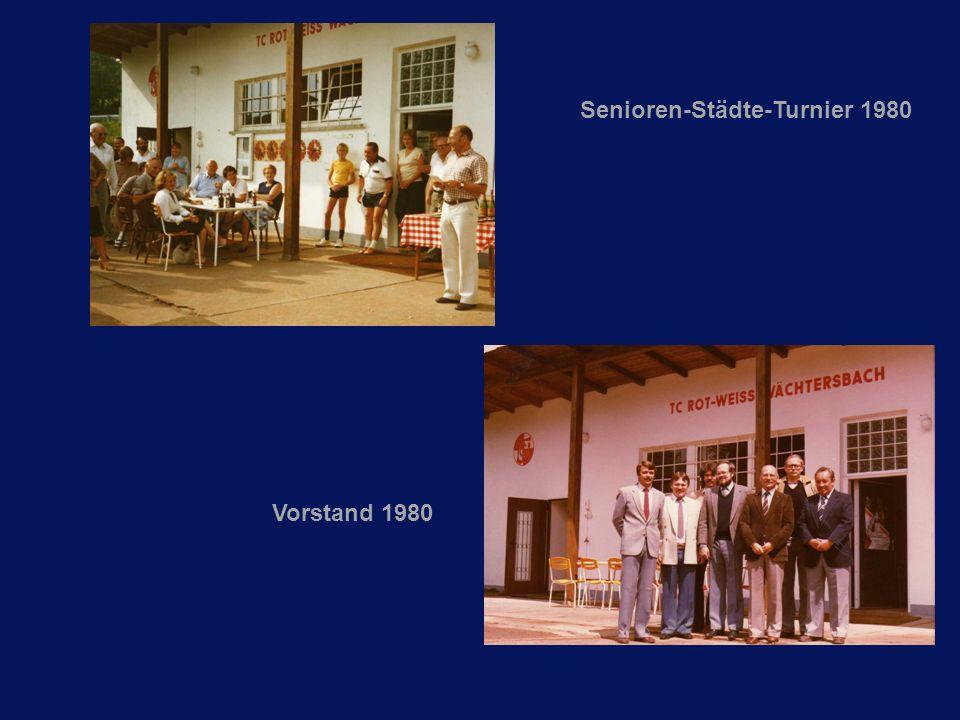 Senioren-Städte-Turnier 1980