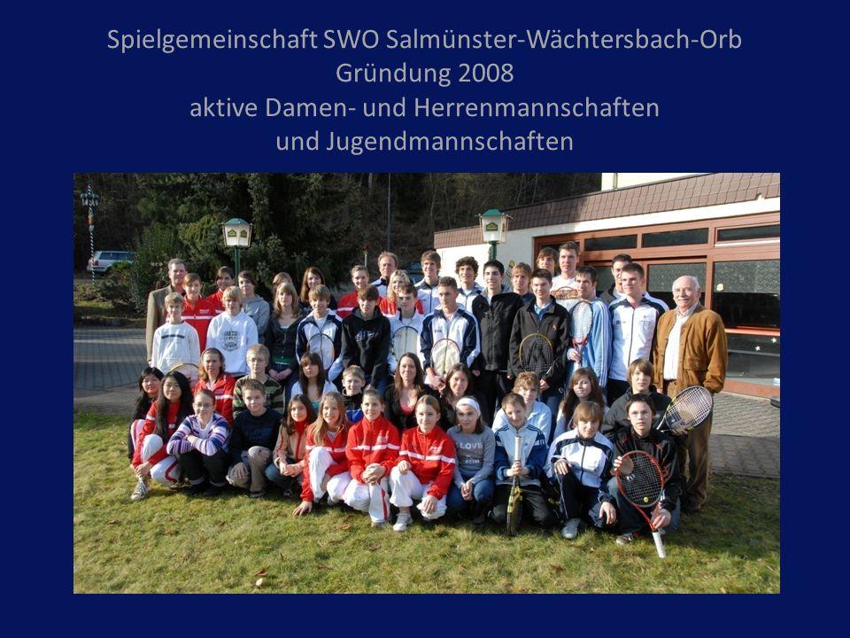 Spielgemeinschaft SWO Salmünster-Wächtersbach-Orb Gründung 2008 aktive Damen- und Herrenmannschaften und Jugendmannschaften
