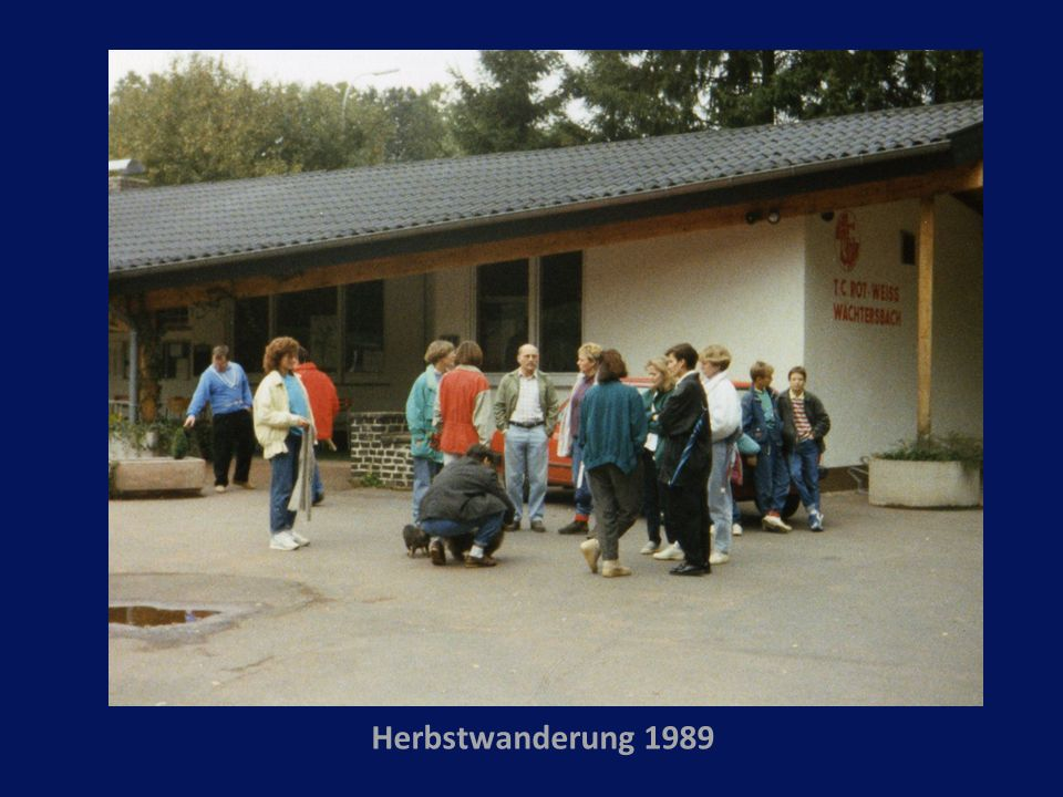 Herbstwanderung 1989