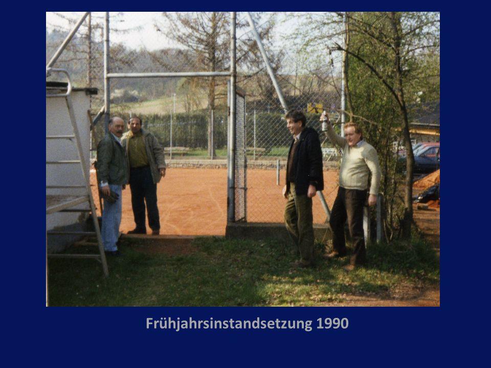 Frühjahrsinstandsetzung 1990