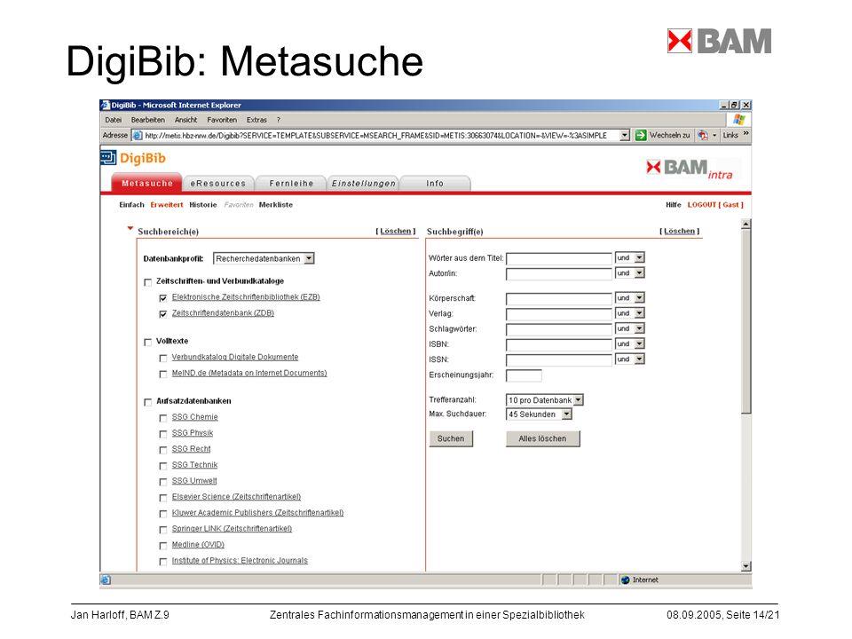 DigiBib: Metasuche Jan Harloff, BAM Z.9