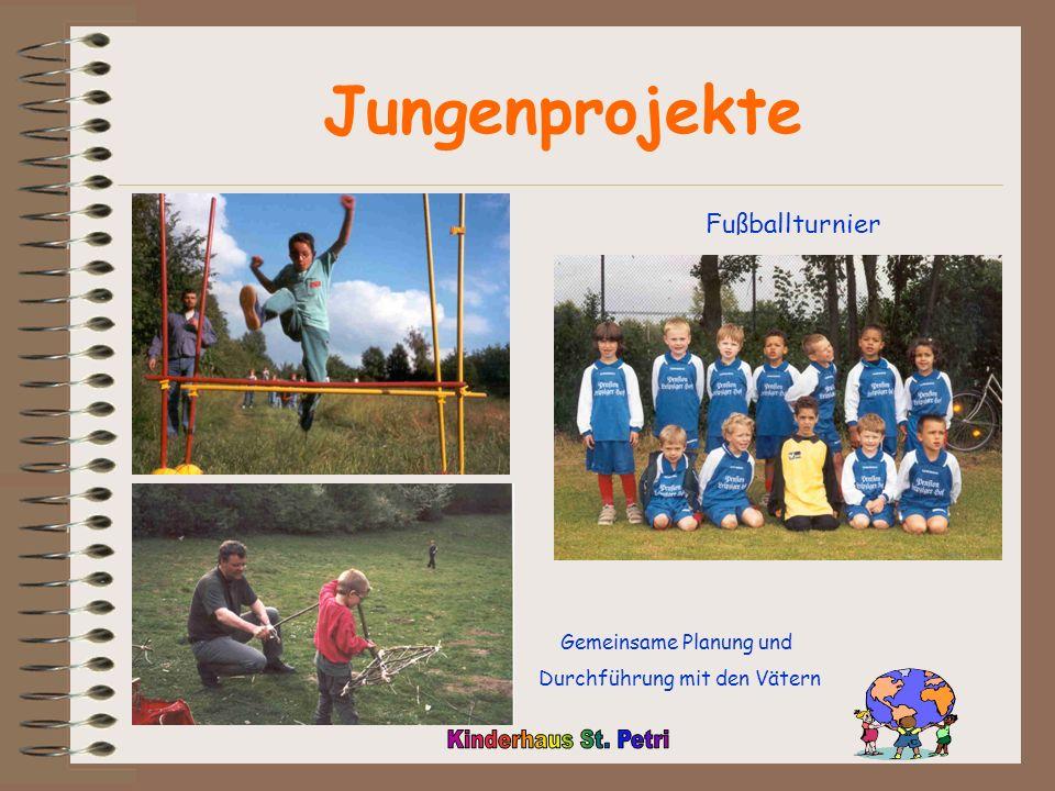 Jungenprojekte Fußballturnier Gemeinsame Planung und
