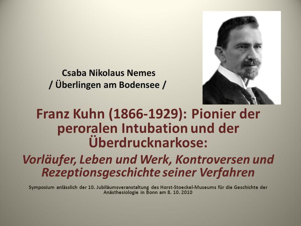 Csaba Nikolaus Nemes / Überlingen am Bodensee /