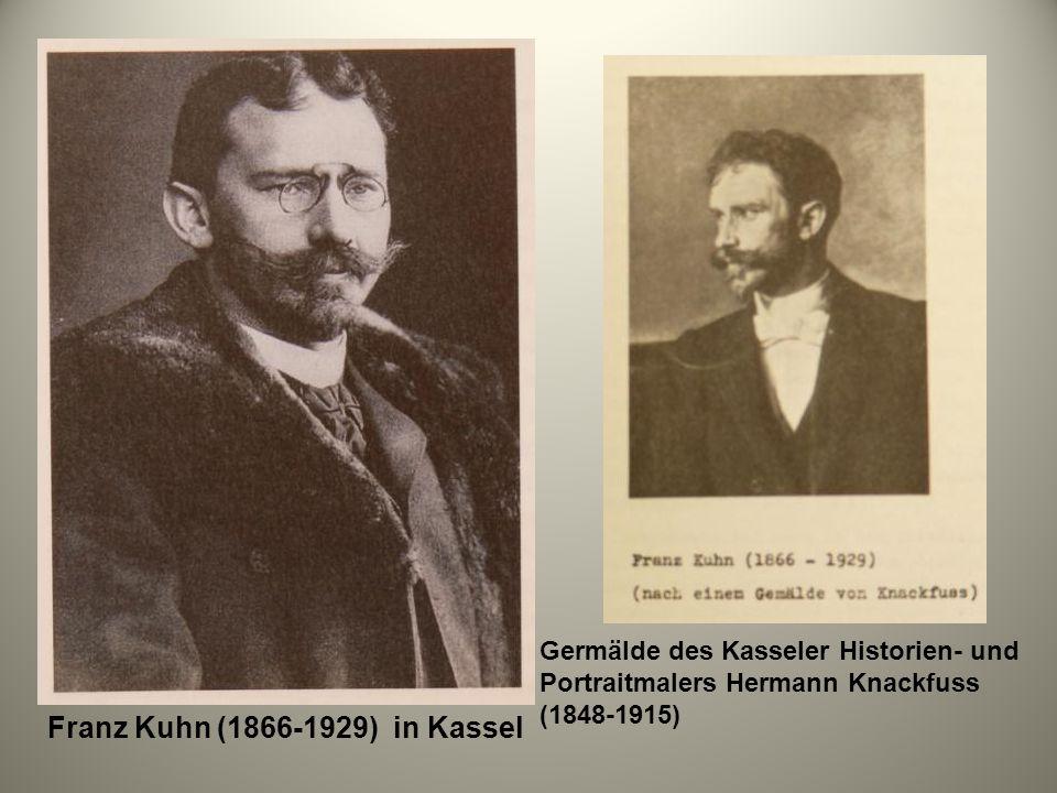 Franz Kuhn (1866-1929) in Kassel
