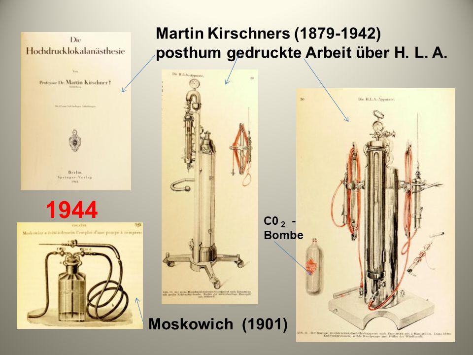 Martin Kirschners (1879-1942) posthum gedruckte Arbeit über H. L. A.