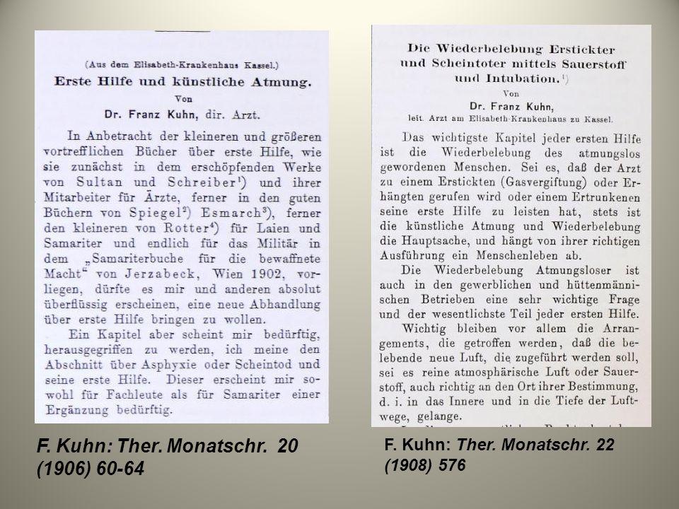 F. Kuhn: Ther. Monatschr. 20 (1906) 60-64