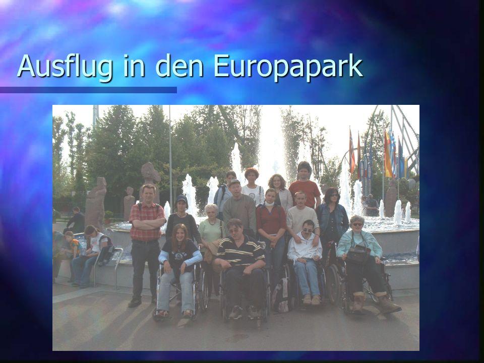 Ausflug in den Europapark