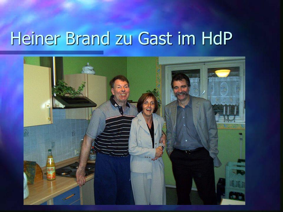 Heiner Brand zu Gast im HdP