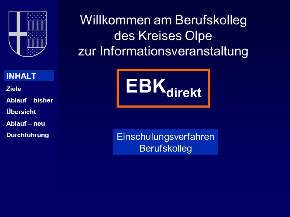 EBKdirekt Willkommen am Berufskolleg des Kreises Olpe