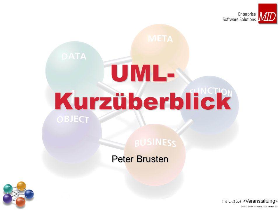 UML-Kurzüberblick Peter Brusten