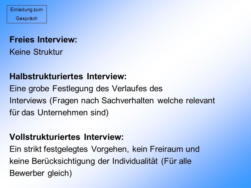 Halbstrukturiertes Interview:
