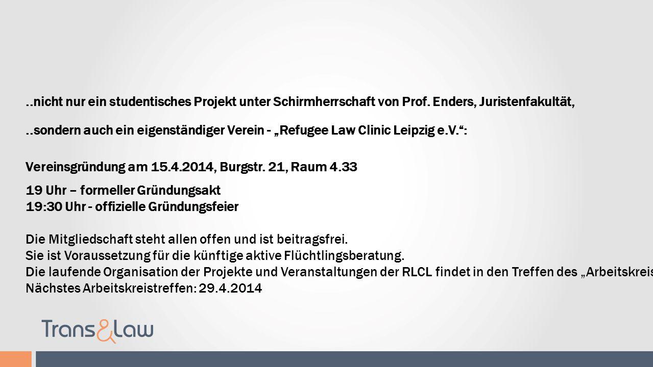 Refugee Law Clinic Leipzig