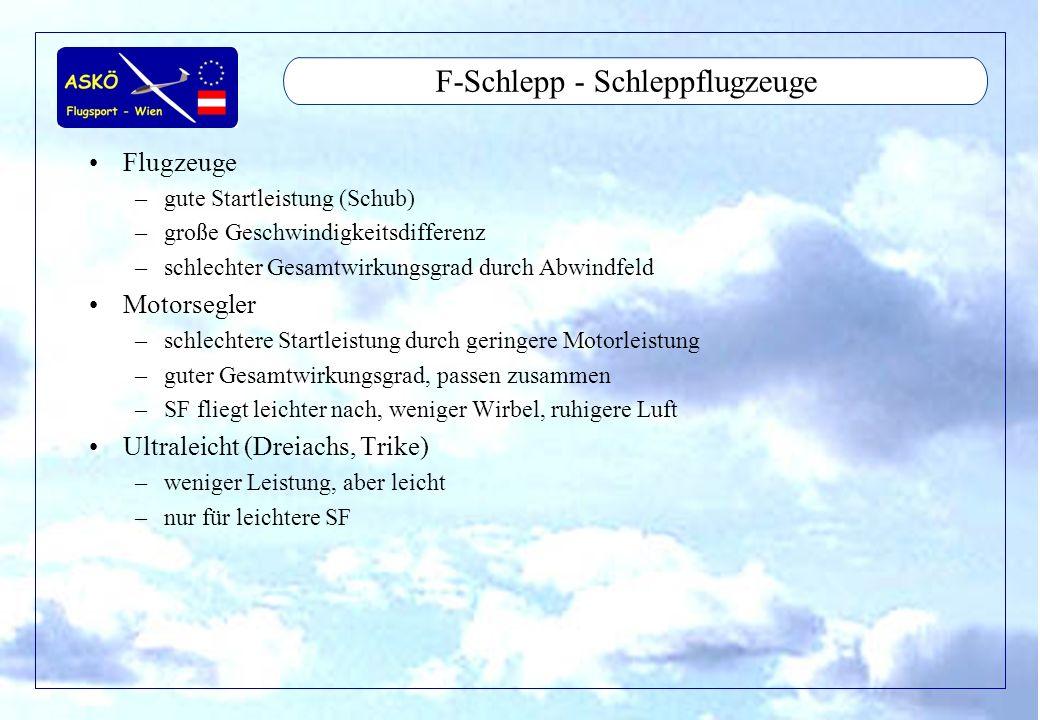 F-Schlepp - Schleppflugzeuge