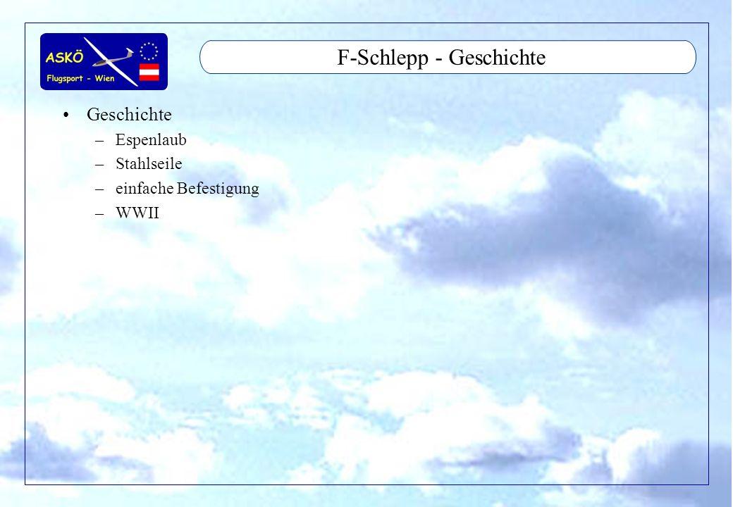 F-Schlepp - Geschichte