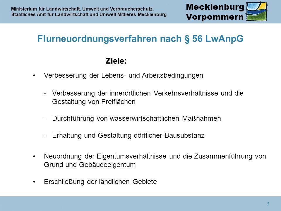 Flurneuordnungsverfahren nach § 56 LwAnpG