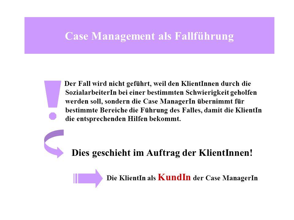 Case Management als Fallführung