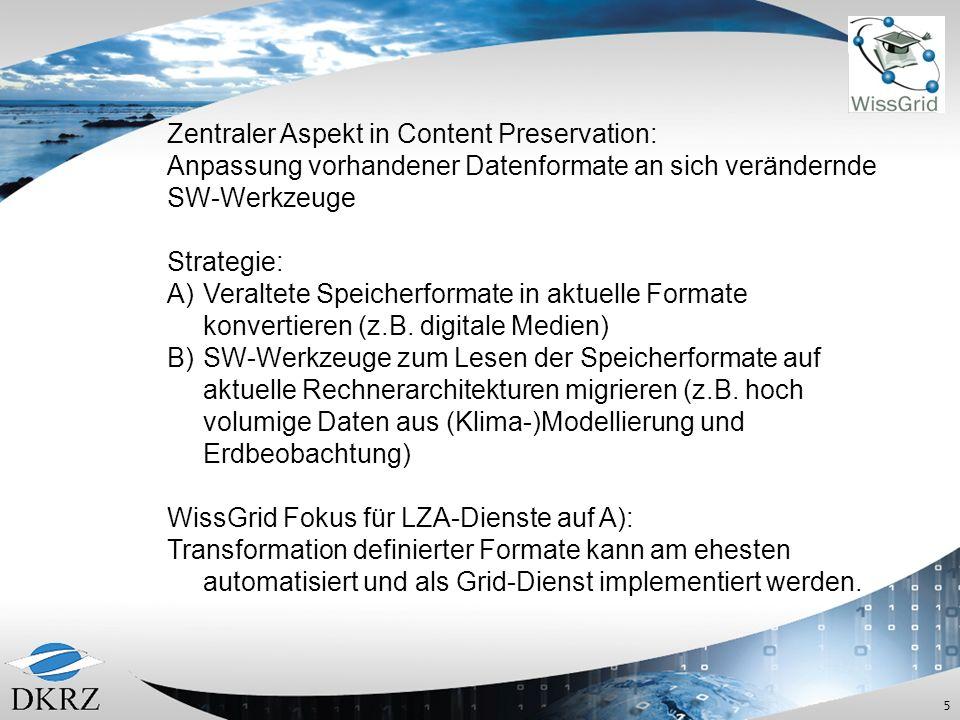Zentraler Aspekt in Content Preservation:
