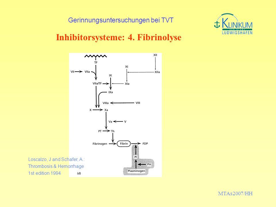 Gerinnungsuntersuchungen bei TVT