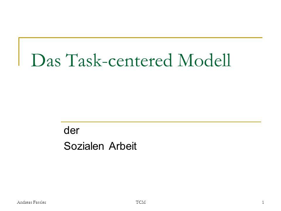 Das Task-centered Modell