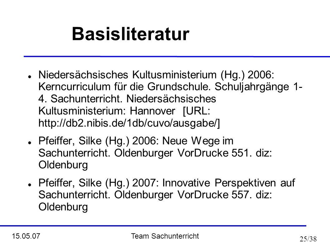 Basisliteratur