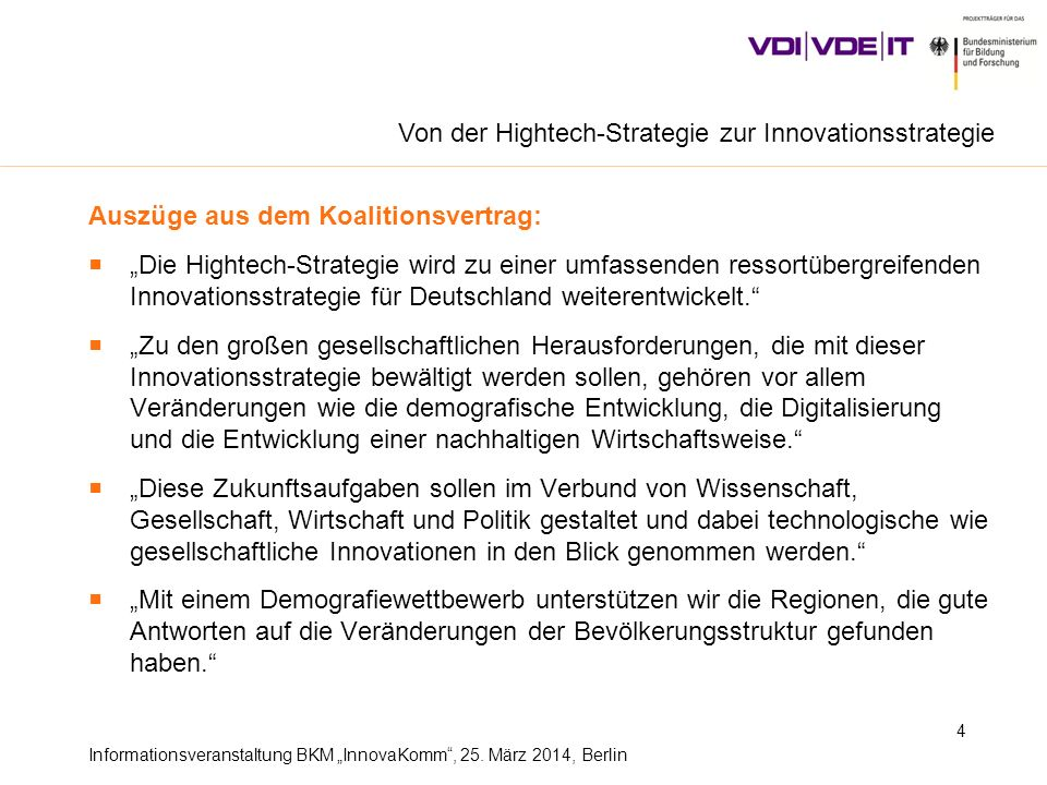 Von der Hightech-Strategie zur Innovationsstrategie