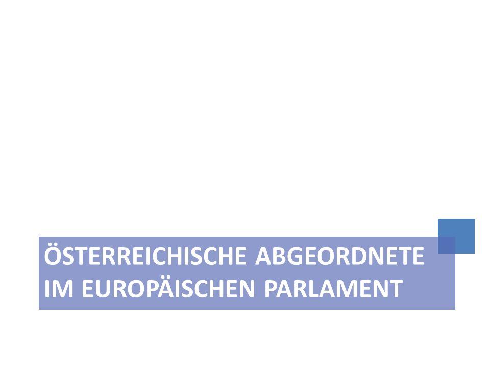 Österreichische Abgeordnete im Europäischen Parlament