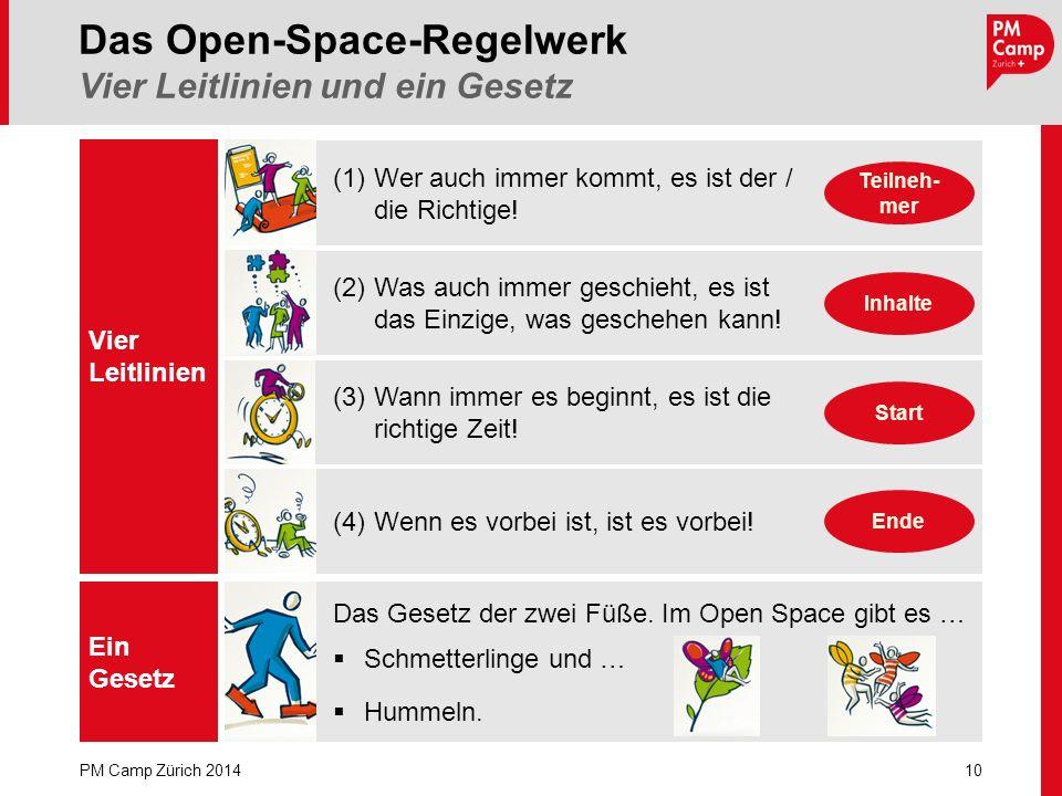 Das Open-Space-Regelwerk Vier Leitlinien und ein Gesetz