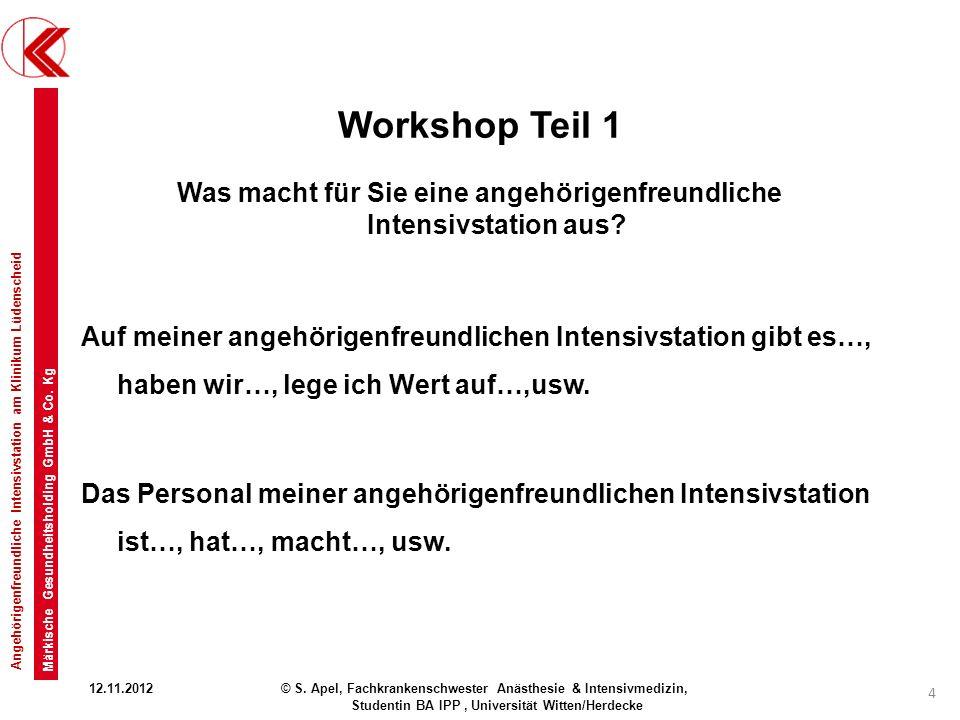 Workshop Teil 1