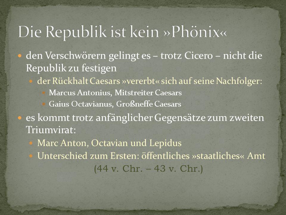 Die Republik ist kein »Phönix«