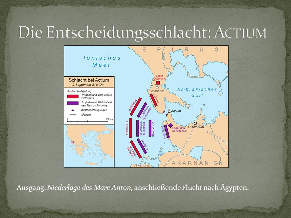 Die Entscheidungsschlacht: Actium