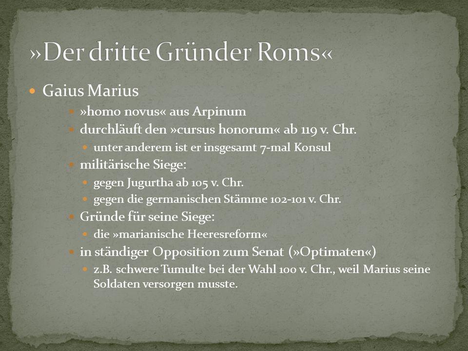 »Der dritte Gründer Roms«