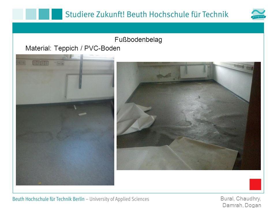Material: Teppich / PVC-Boden