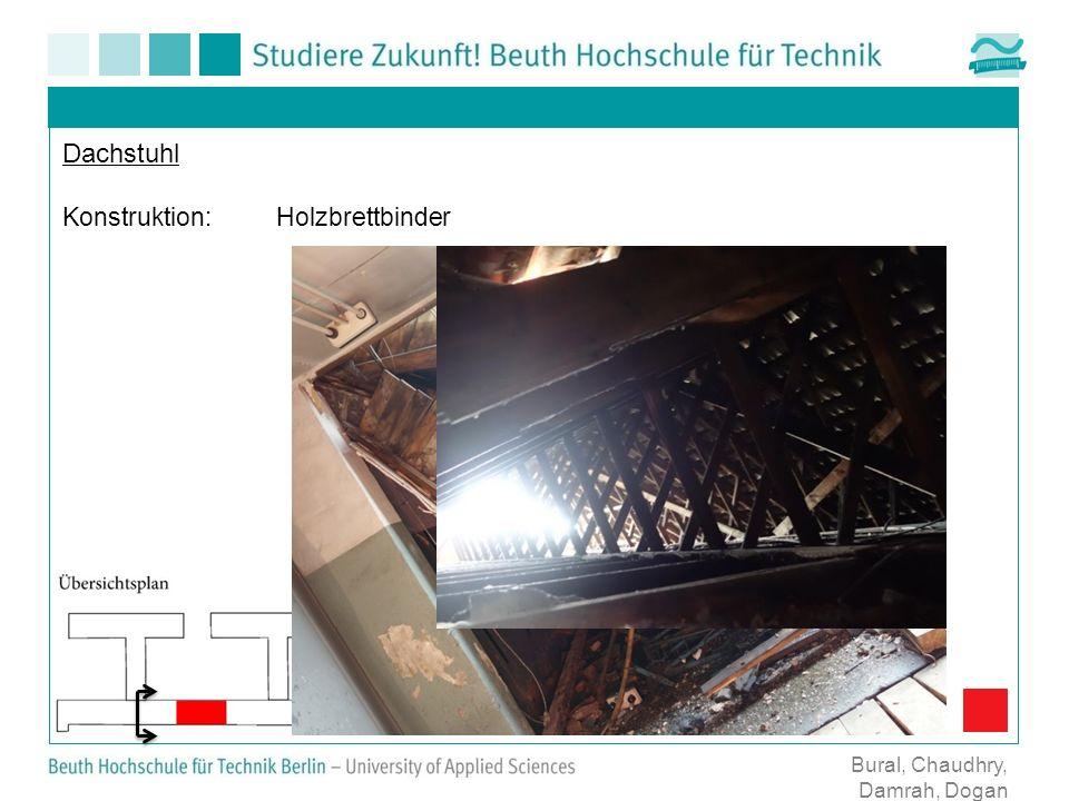 Dachstuhl Konstruktion: Holzbrettbinder Bural, Chaudhry, Damrah, Dogan