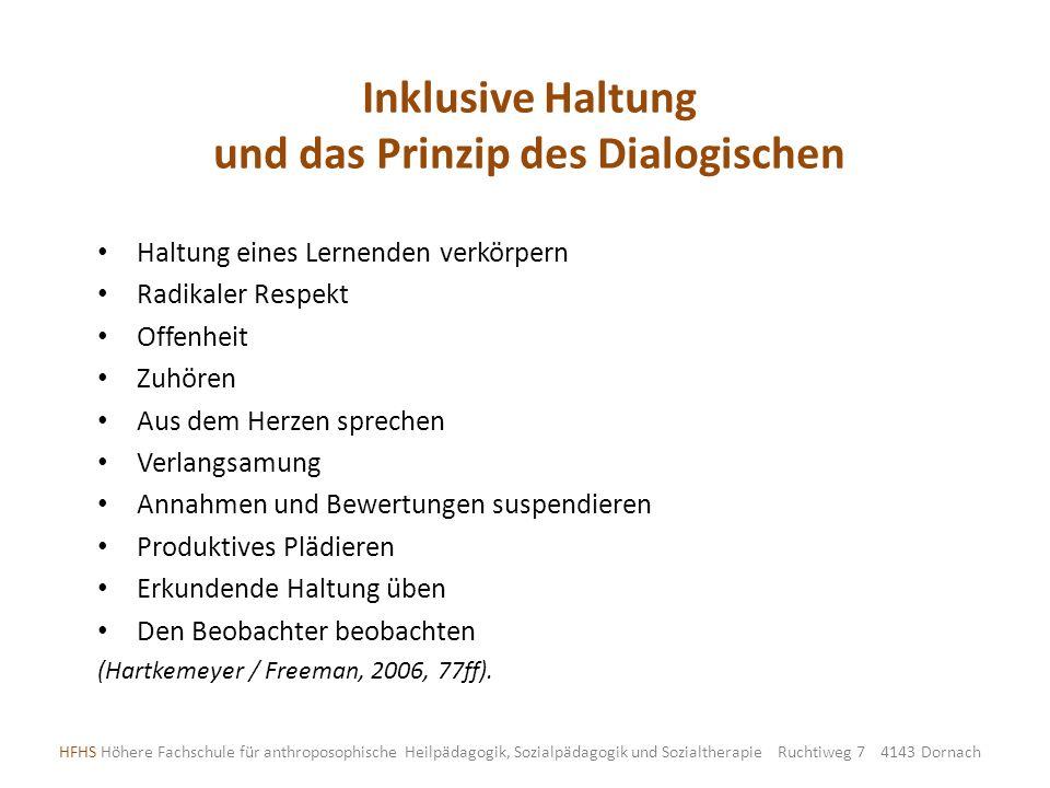 und das Prinzip des Dialogischen