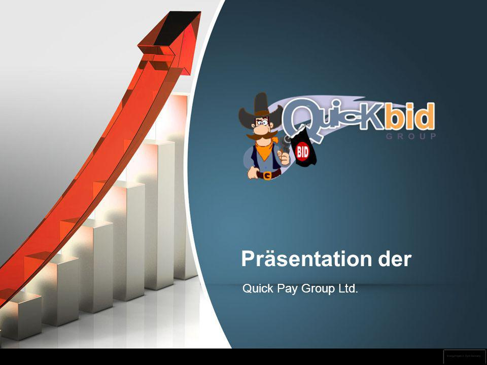 Präsentation der Quick Pay Group Ltd. 1 1