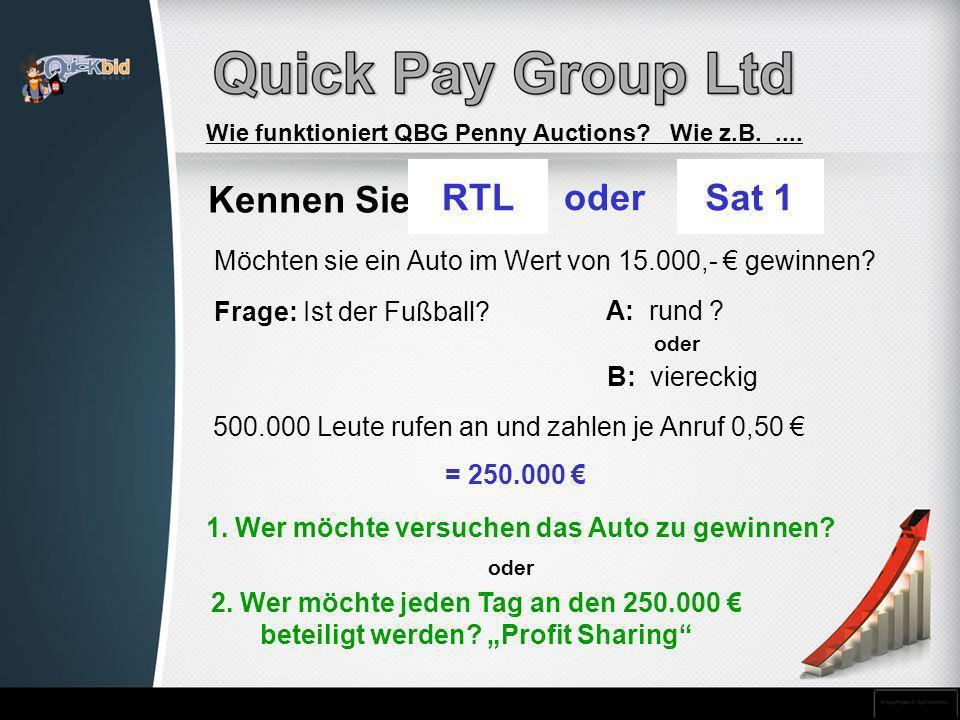500.000 Leute rufen an und zahlen je Anruf 0,50 €