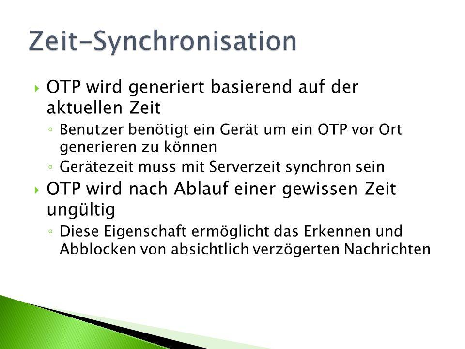 Zeit-Synchronisation
